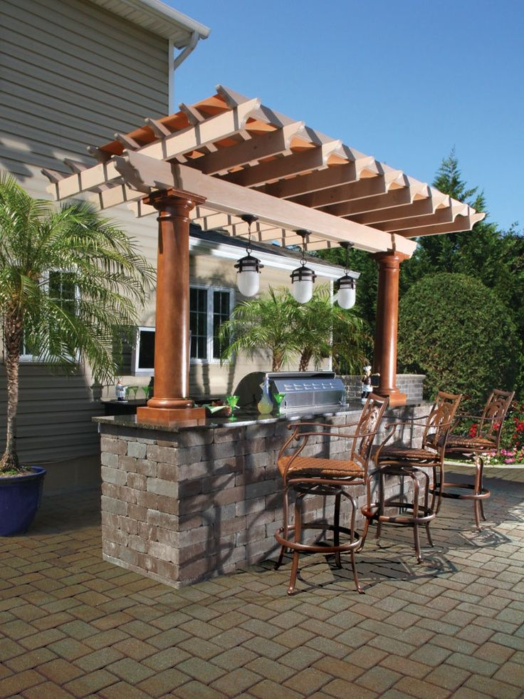 Creative Outdoor Kitchen Design Ideas