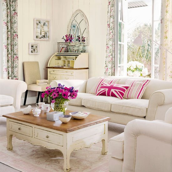 british style cosy living room design