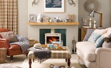 cosy living room design