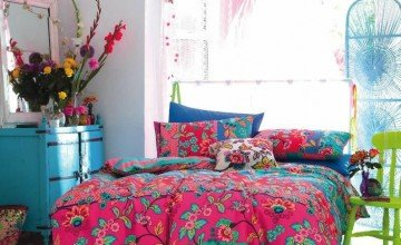 interior design tip for colorful bedroom