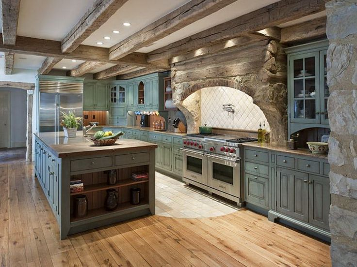 Top 5 Great Italian Kitchen Design Ideas : italian farmhouse kitchen design from www.decorola.com size 736 x 552 jpeg 81kB