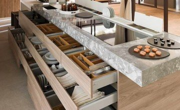 kitchen design modern storage