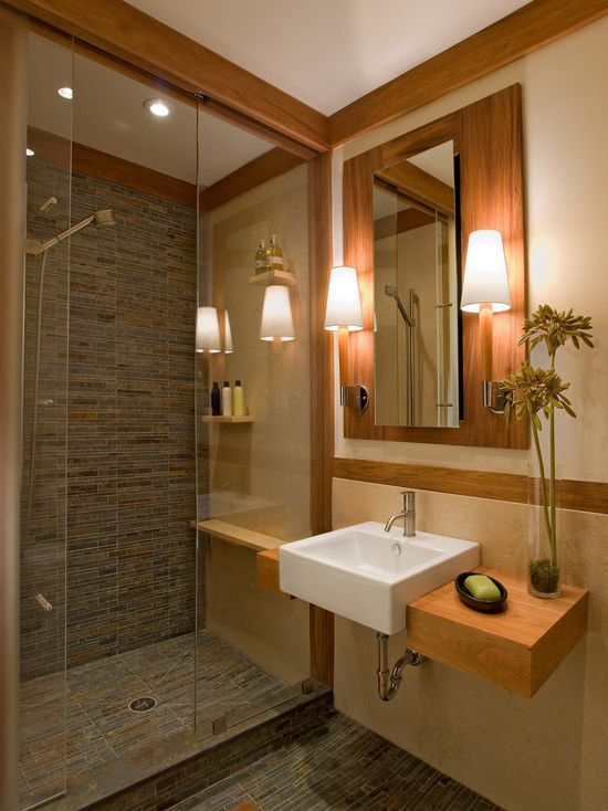 Small but modern bathroom design ideas for Bathroom tile designs for small bathrooms photos