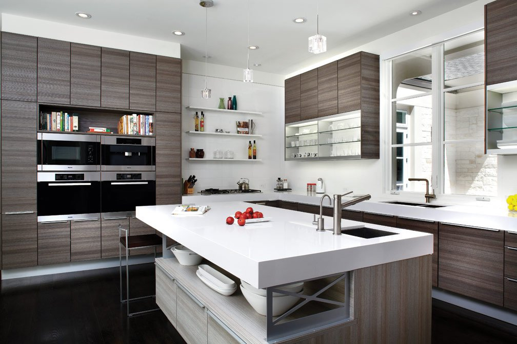 Top 5 kitchen design in 2014 for Contemporary kitchen colours