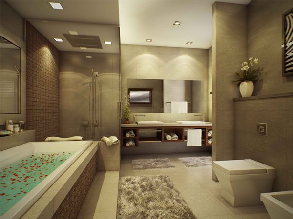 Beautiful Master Bathroom Ideas: Top 5 Modern Bathroom Designs