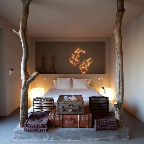 natural sexy bedroom design