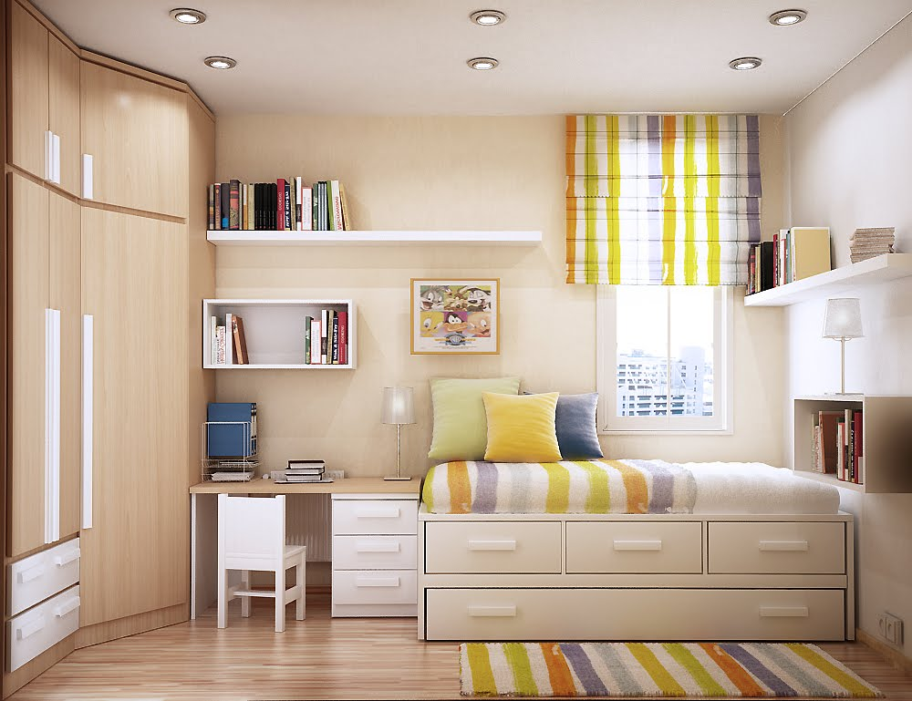 room decorating ideas for small spaces - Small Space Design Ideas