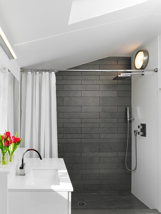 Small but modern bathroom design ideas for Small bathroom decorating themes