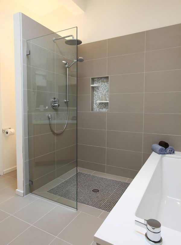 small bathroom shower design idea