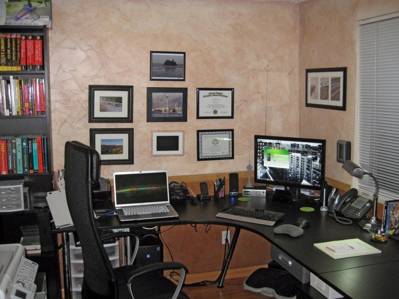 Modern And Small Office Design Ideas Home Office Decorating Ideas