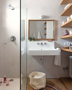 very creative small bathroom design