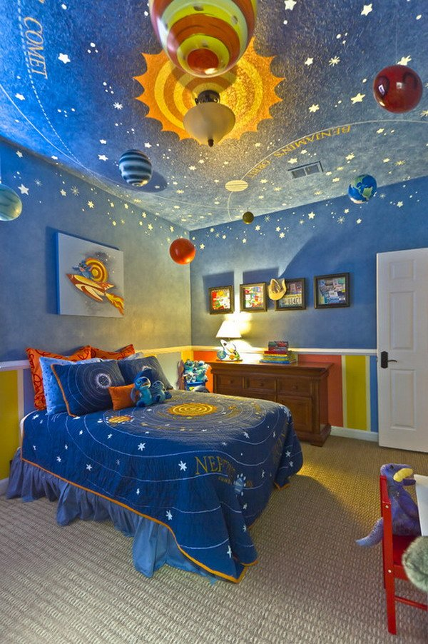 Themed kids room decoration and interior design ideas - Kids room decoration ...