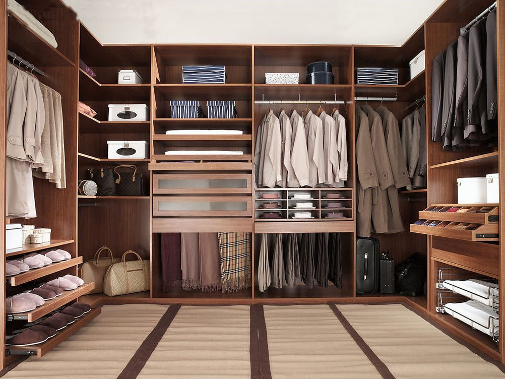 very modern wardrobe design for gentlemen