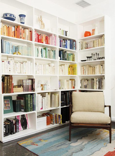 Top 5 bookcase ideas for small apartments - Small bookcases for small spaces design ...