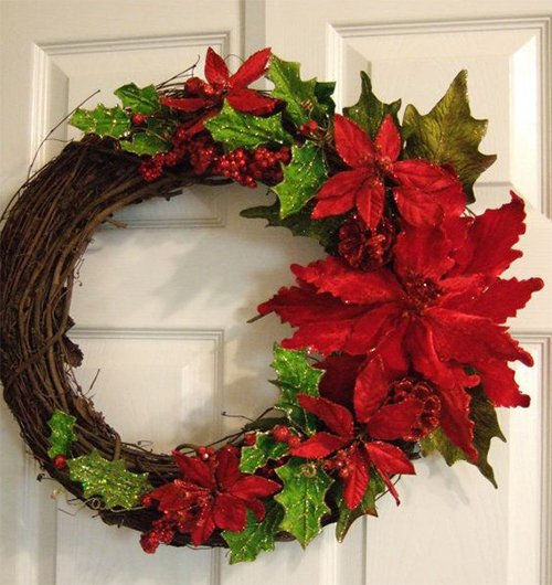 amazing wreath design for christmas