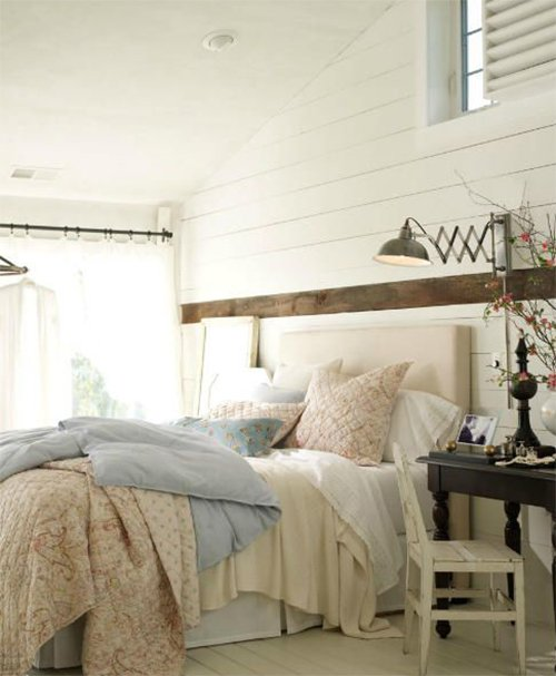 charming soft colored bedroom
