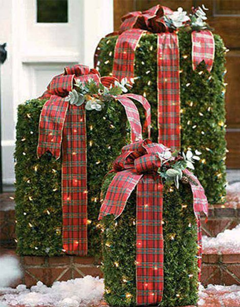 christmas decorating ideas for outdoors