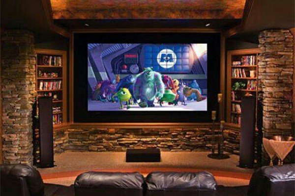 Living room decor ideas purple 2017 2018 best cars reviews for Living room theater