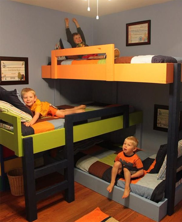 creative bunk bed design