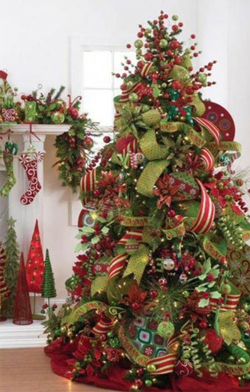creative christmas tree design