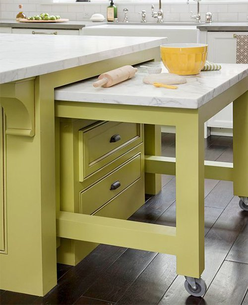 5 tips for hidden kitchen storage for Hidden kitchen storage ideas