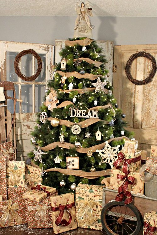dreamy cristmas tree decor