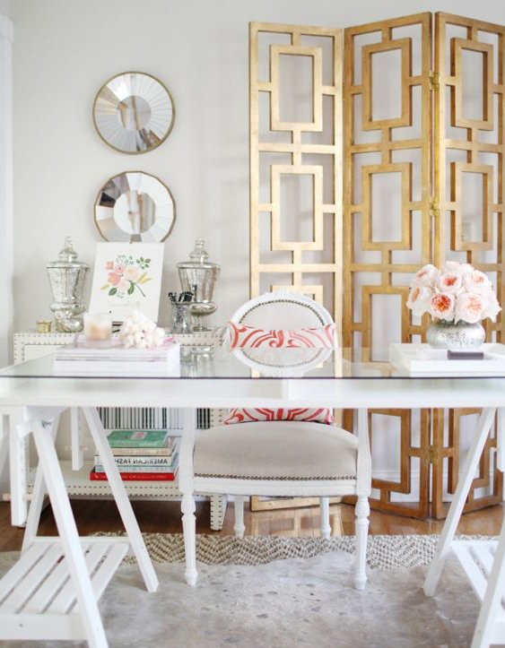 feminine work space design