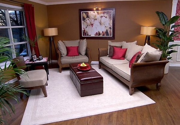 How to feng shui your living room for Feng shui colours for living room