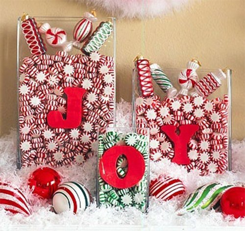 green and red christmas decor