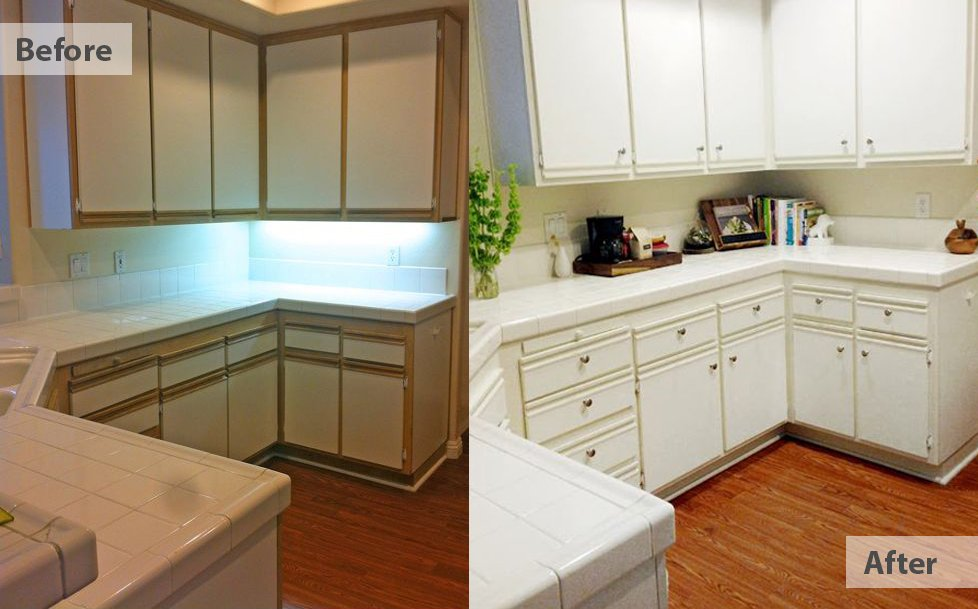 kitchen before after remodelling
