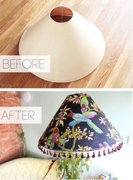 lamps before - after
