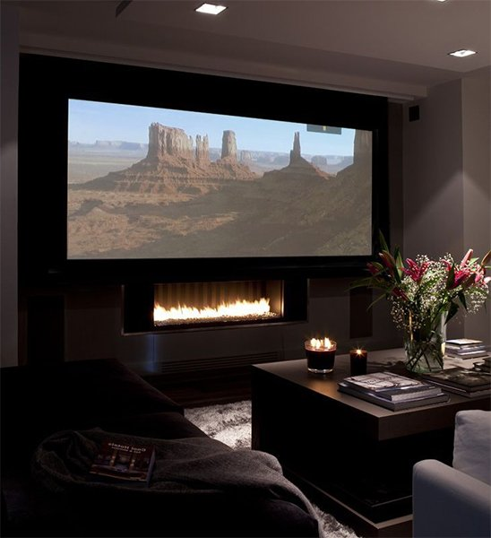 Turn your living room into a mini home theatre for Living room home theater