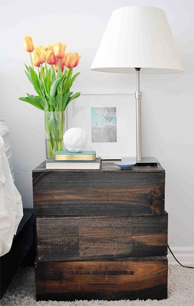 modern and very creative nightstand