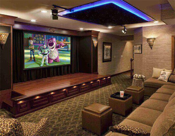 living room with home theater design turn your living room into a mini home theatre 26773