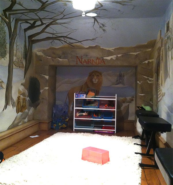 narnia themed room design