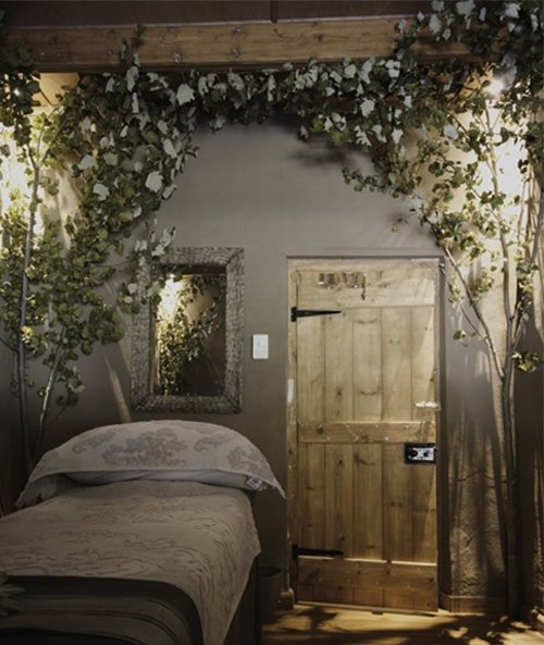 nature themed bedroom design