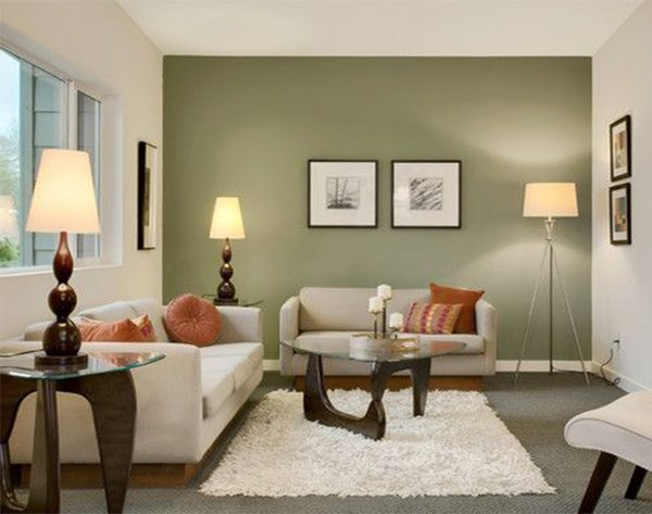 5 tips for a sophisticated living room for Olive green accessories living room