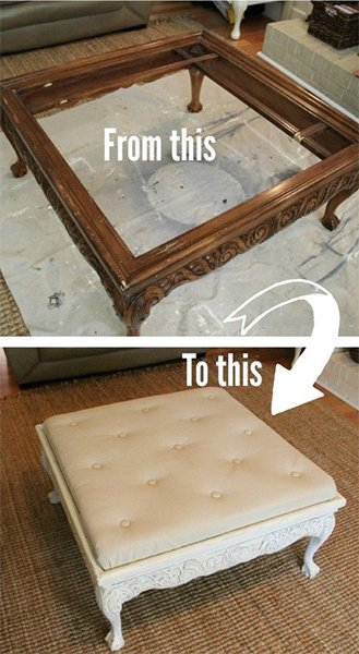 ottoman coffe table do it yourself project