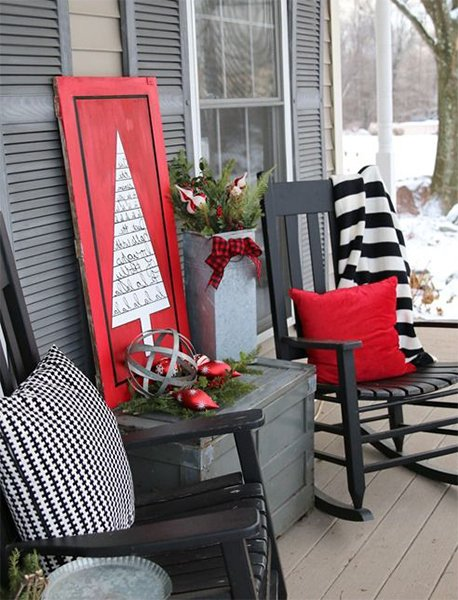 outdoor decoration idea for christmas