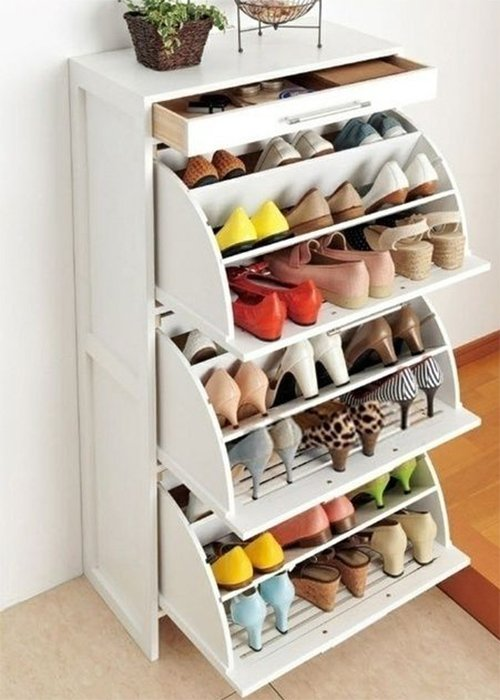 Shoe cabinet ideas - Shoe organizers for small spaces design ...