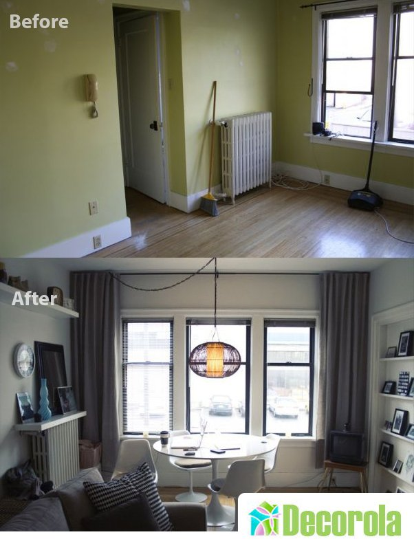 Decorating My Apartment Living Room: Gorgeous Small Apartment Design Ideas