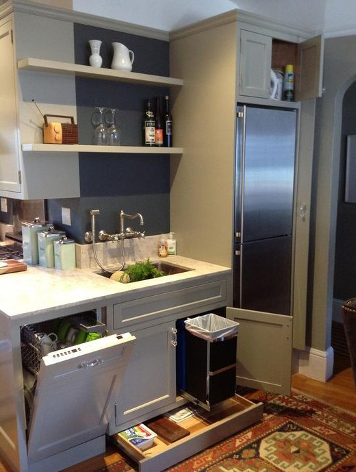 small kitchen designed well