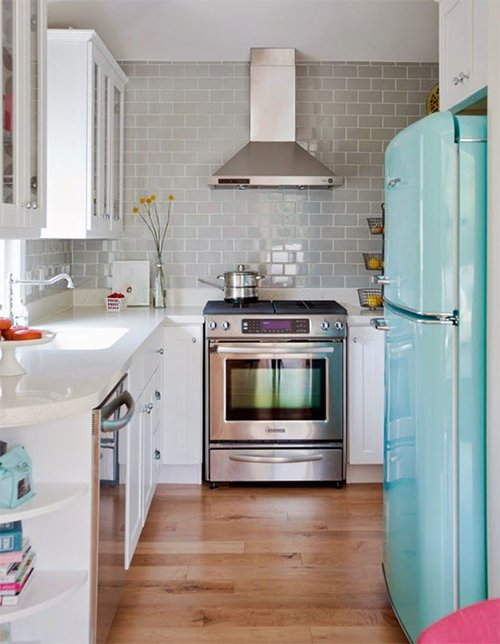 Top 10 small retro kitchen designs for Kitchen ideas vintage