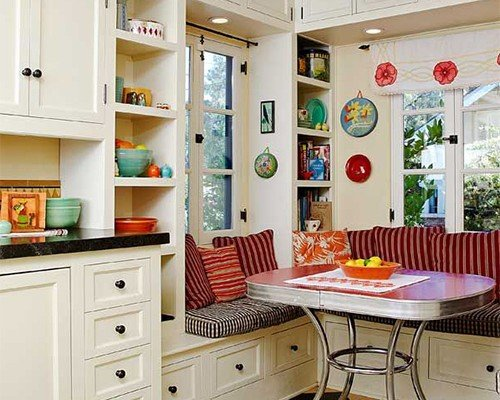 Top 10 small retro kitchen designs for Vintage kitchen designs photos