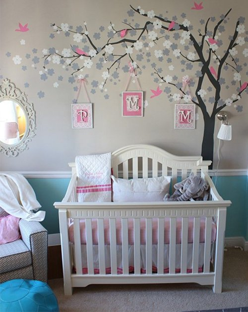 very creative nursery design idea for your baby