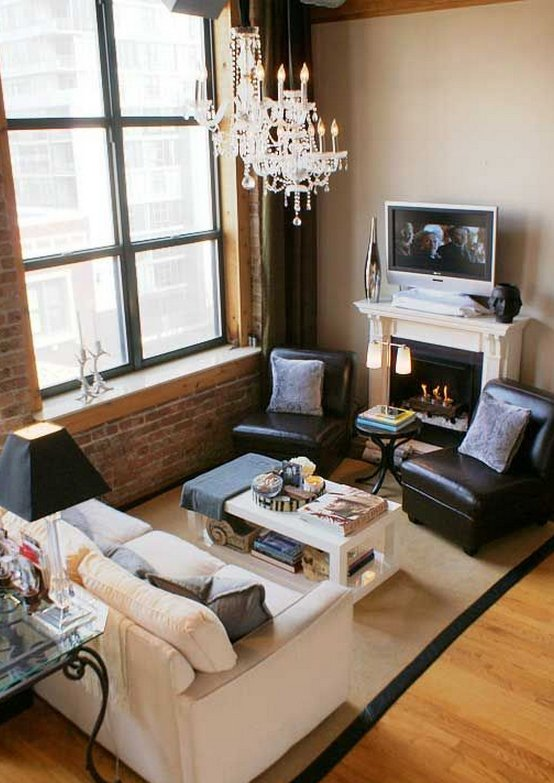 Living room ideas for small spaces for Tips for decorating small living room