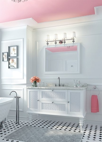 Pink Bathroom Design Ideas And Photos