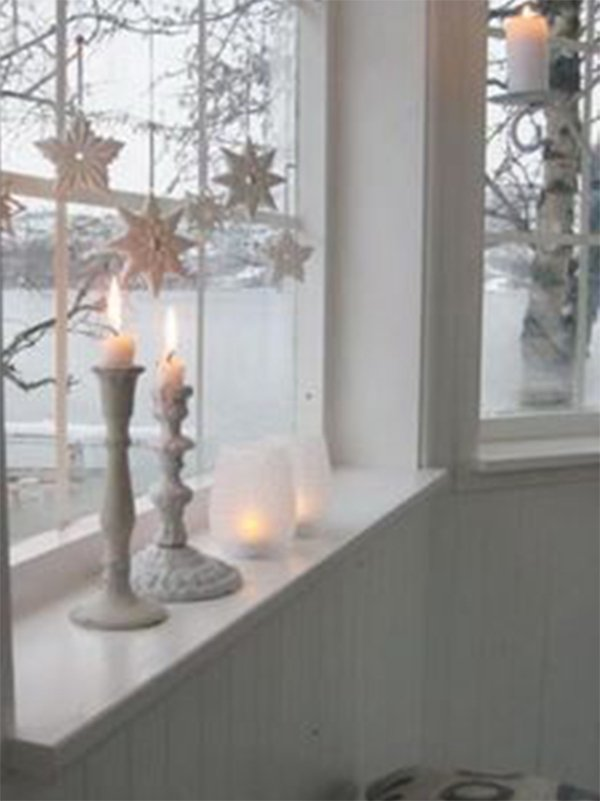 window candles