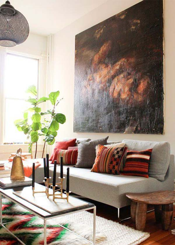 artwork ideas for small space decoration