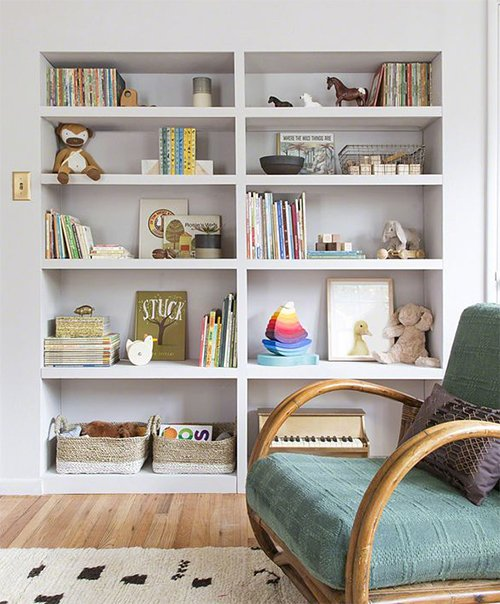 bookcase idea for your child's room